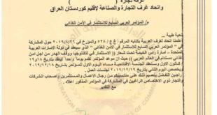 الموتمر العربي السابع للاستثمار في الامن الغذائي