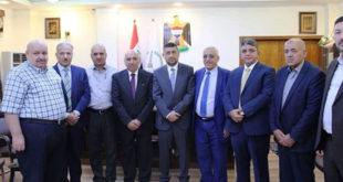 زيارة محافظ نينوى السيد منصور المرعيد