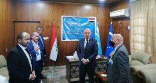 زيارة القنصل العام التركي لمحافظة نينوى