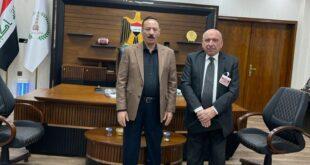 عقد لقاء مع السيد محافظ نينوى المحترم