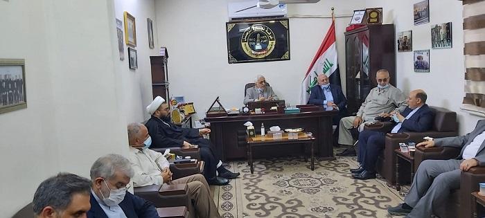 زيارة القنصل الايراني العام في اربيل
